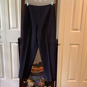 Talbots cropped side zip pencil pant